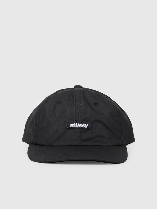 Stussy Ripstop Low Pro Cap Black 131901