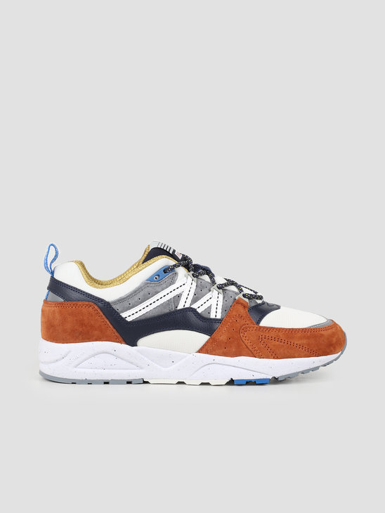 Karhu Fusion 2.0 Leather Brown Night Sky F804062