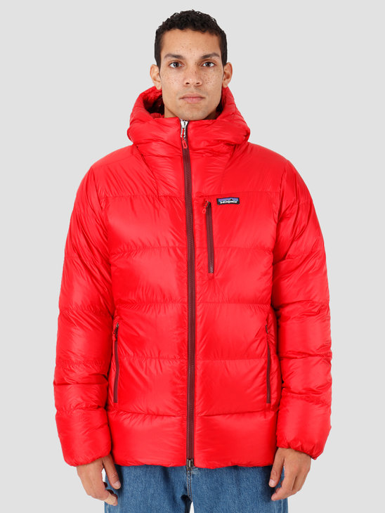 Patagonia Fitz Roy Down Parka Fire Oxide Red 84571