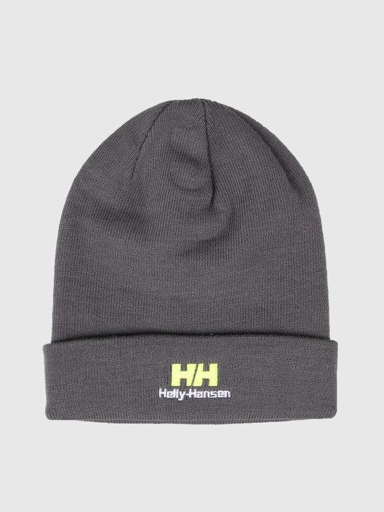 Helly Hansen Yu Beanie 964 Charcoal 53393