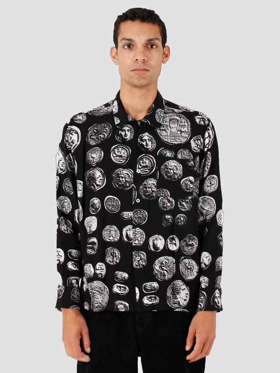 Obey The Loot Woven Longsleeve Coins Black 181200270-BLK