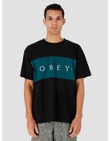 Obey Obey Conrad Classic Tee Shortsleeve Black Multi 131080252-BKM
