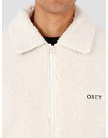 Obey Obey Caboose Sherpa Jacket Natural 121800396-NAT
