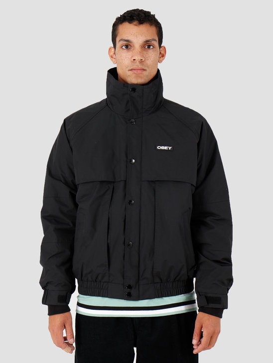 Obey Layers Jacket Black 121800381-BLK