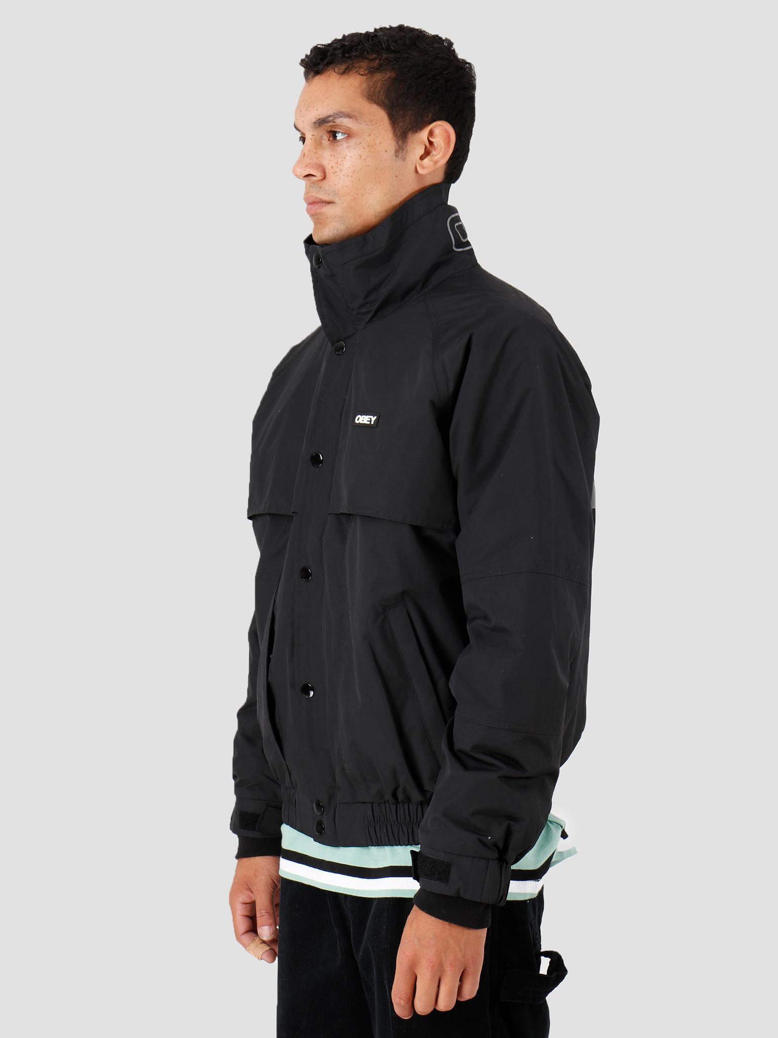 Obey Obey Layers Jacket Black 121800381-BLK