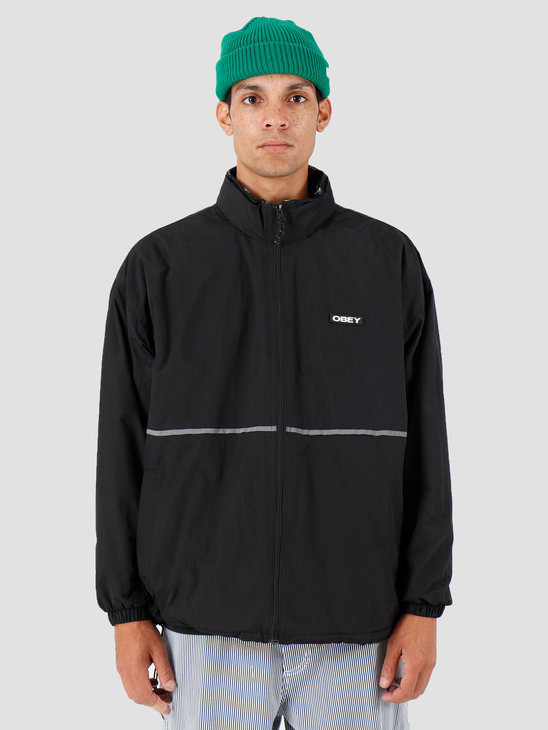 Obey Prone Jacket Black 121800376-BLK