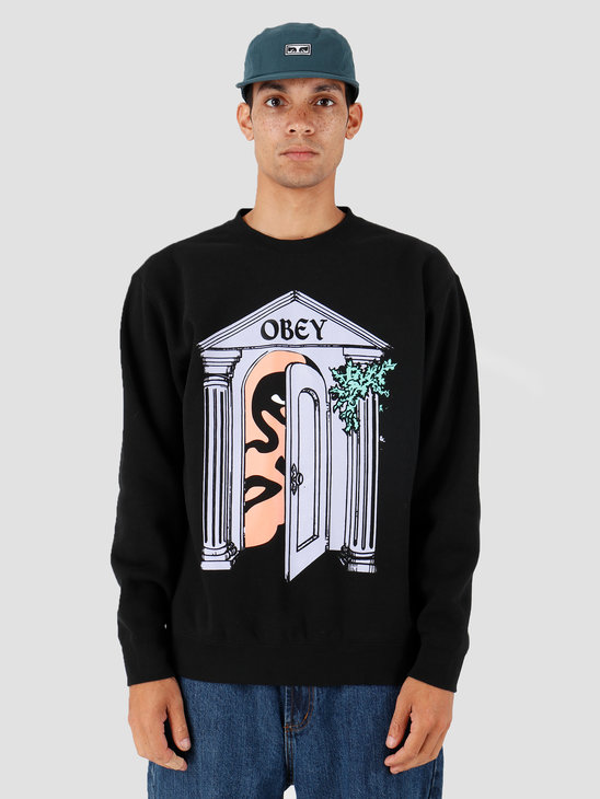 Obey Mausoleum Black 112862088-BLK