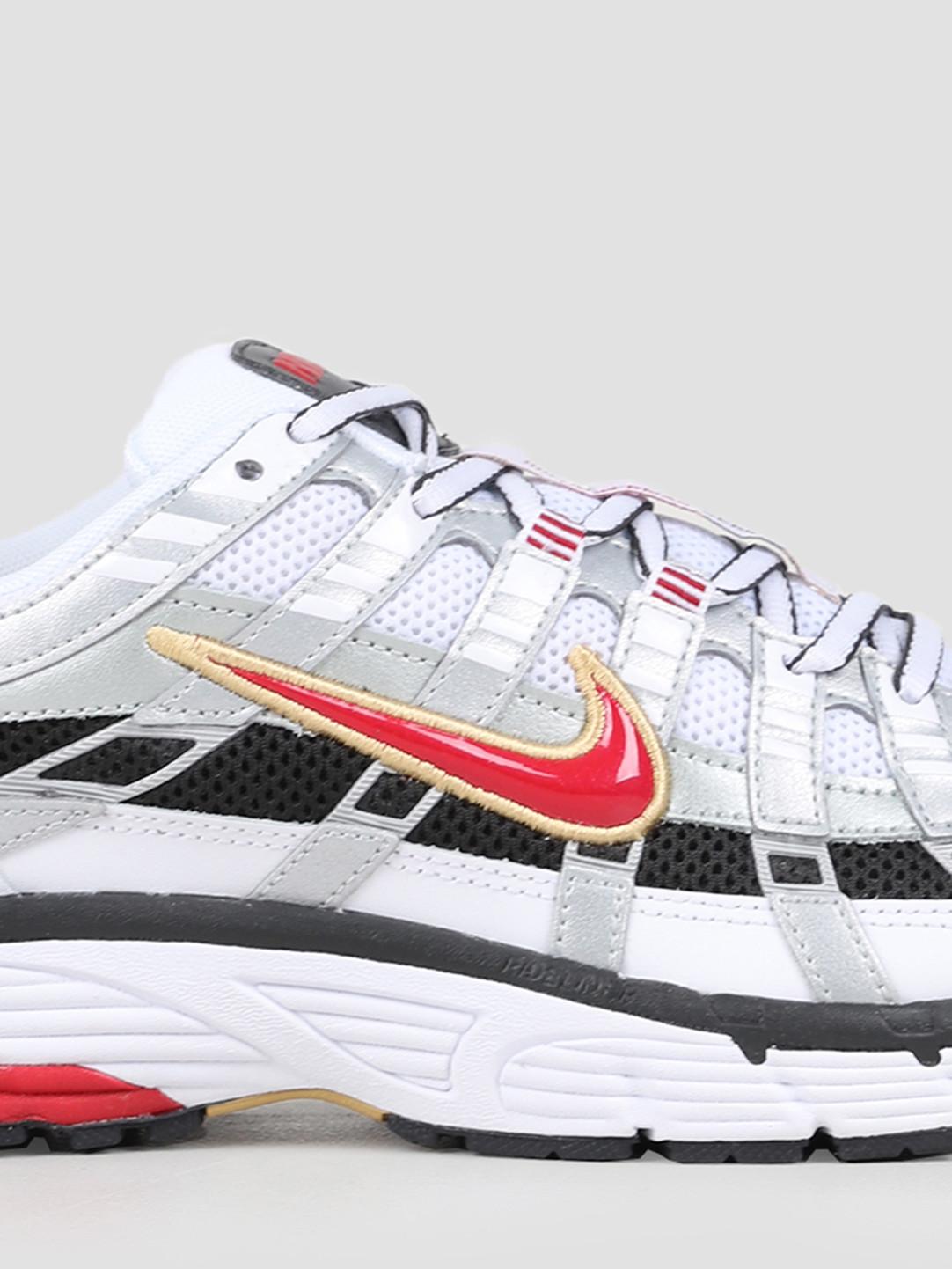Nike Nike P6000 White Varsity Red Mtlc Platinum Bv1021-101