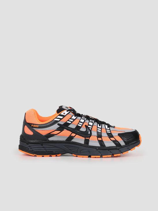 Nike P 6000 Total Orange Black Anthracite Flt Silver CD6404-800