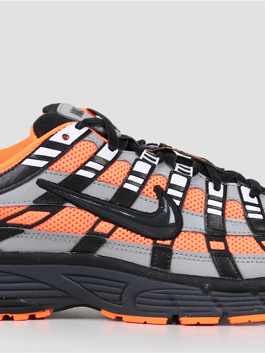 Nike Nike P 6000 Total Orange Black Anthracite Flt Silver CD6404-800