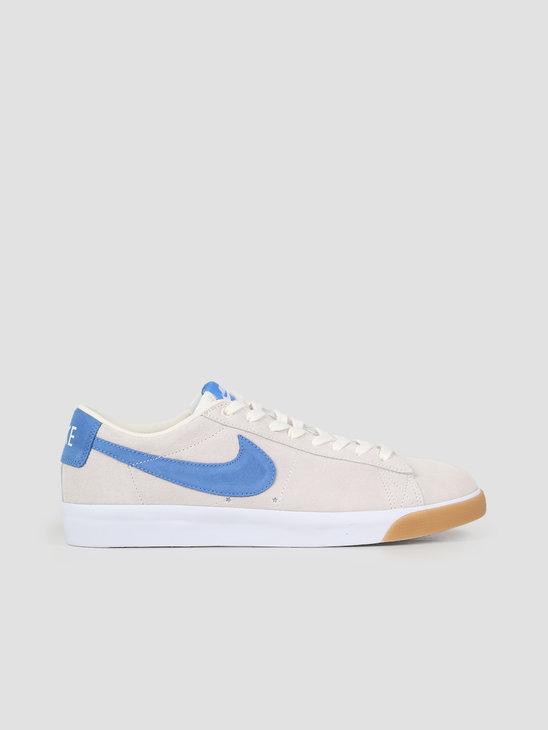 Nike SB Blazer Low GT PaleIvory Pacific Blue-White 704939-103