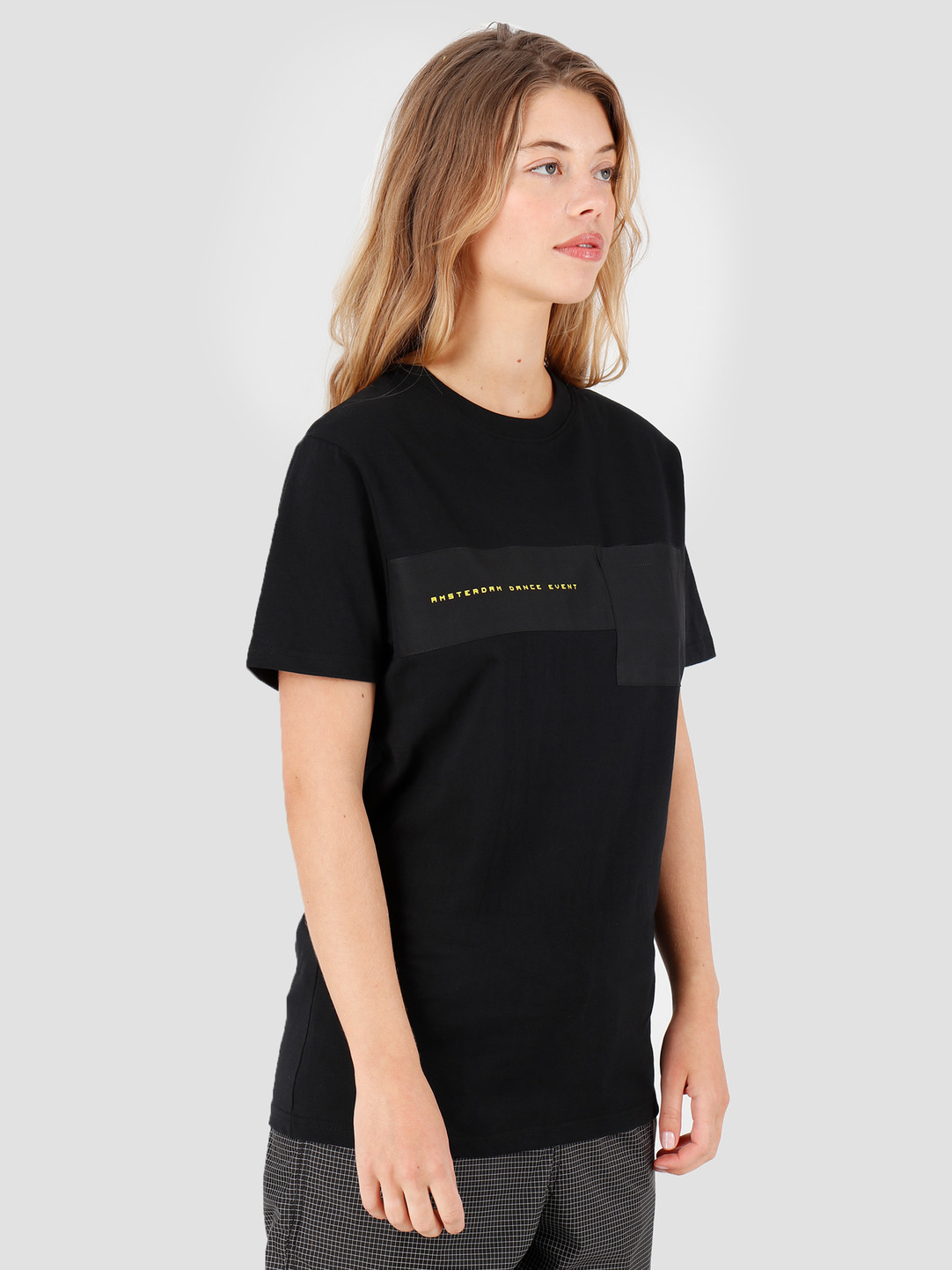 FRESHCOTTON x ADE FRESHCOTTON x ADE Cut and Sew T-shirt Black