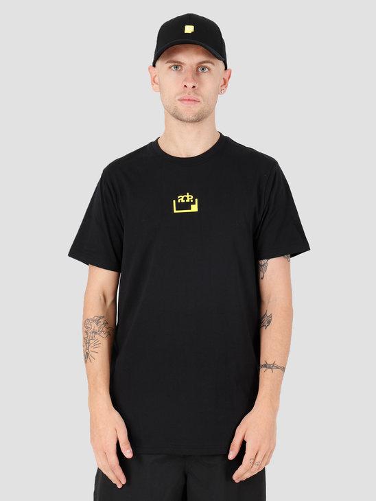 FRESHCOTTON x ADE Printed T-shirt Black