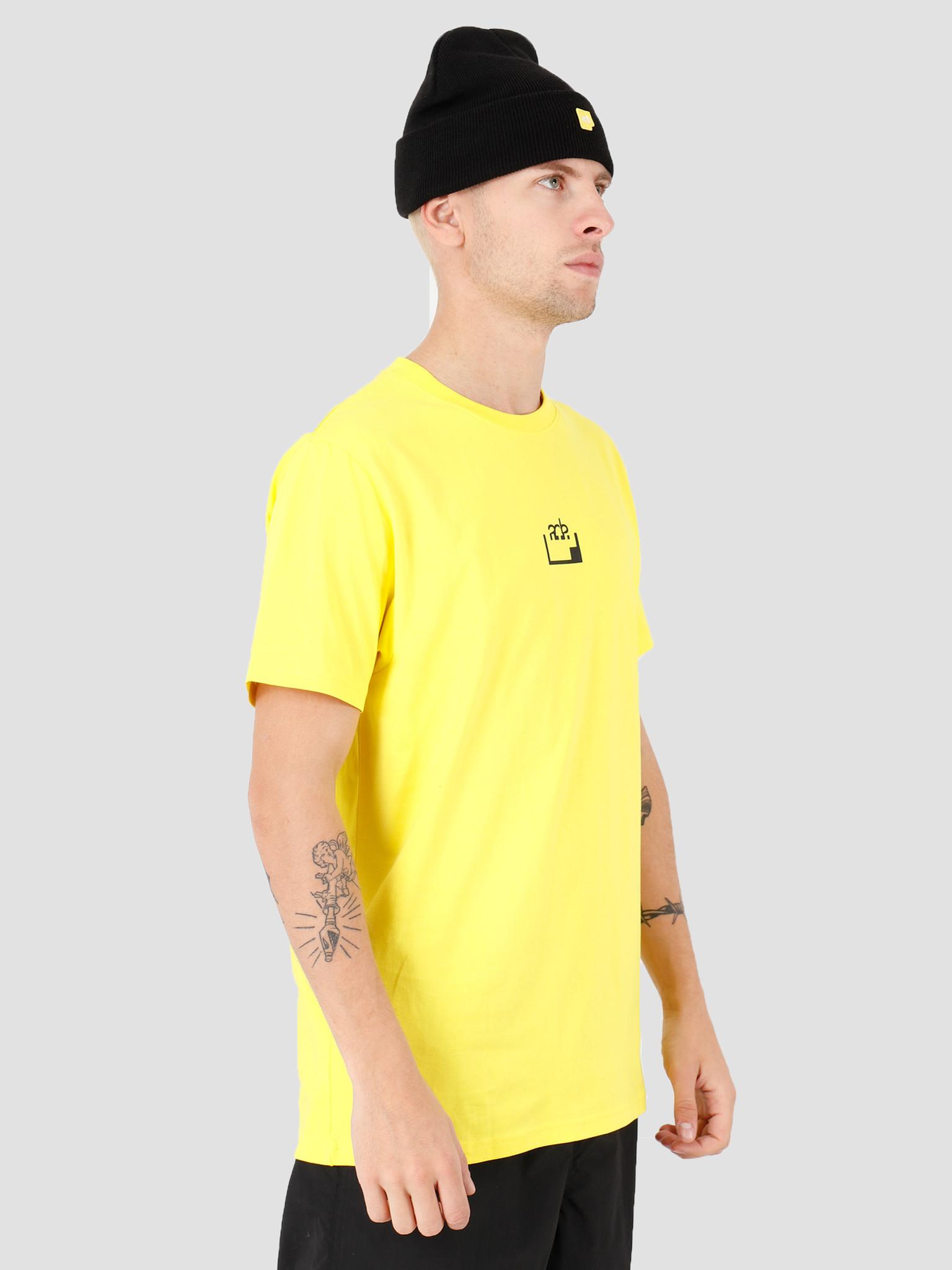 FRESHCOTTON x ADE FRESHCOTTON x ADE Printed T-shirt Yellow