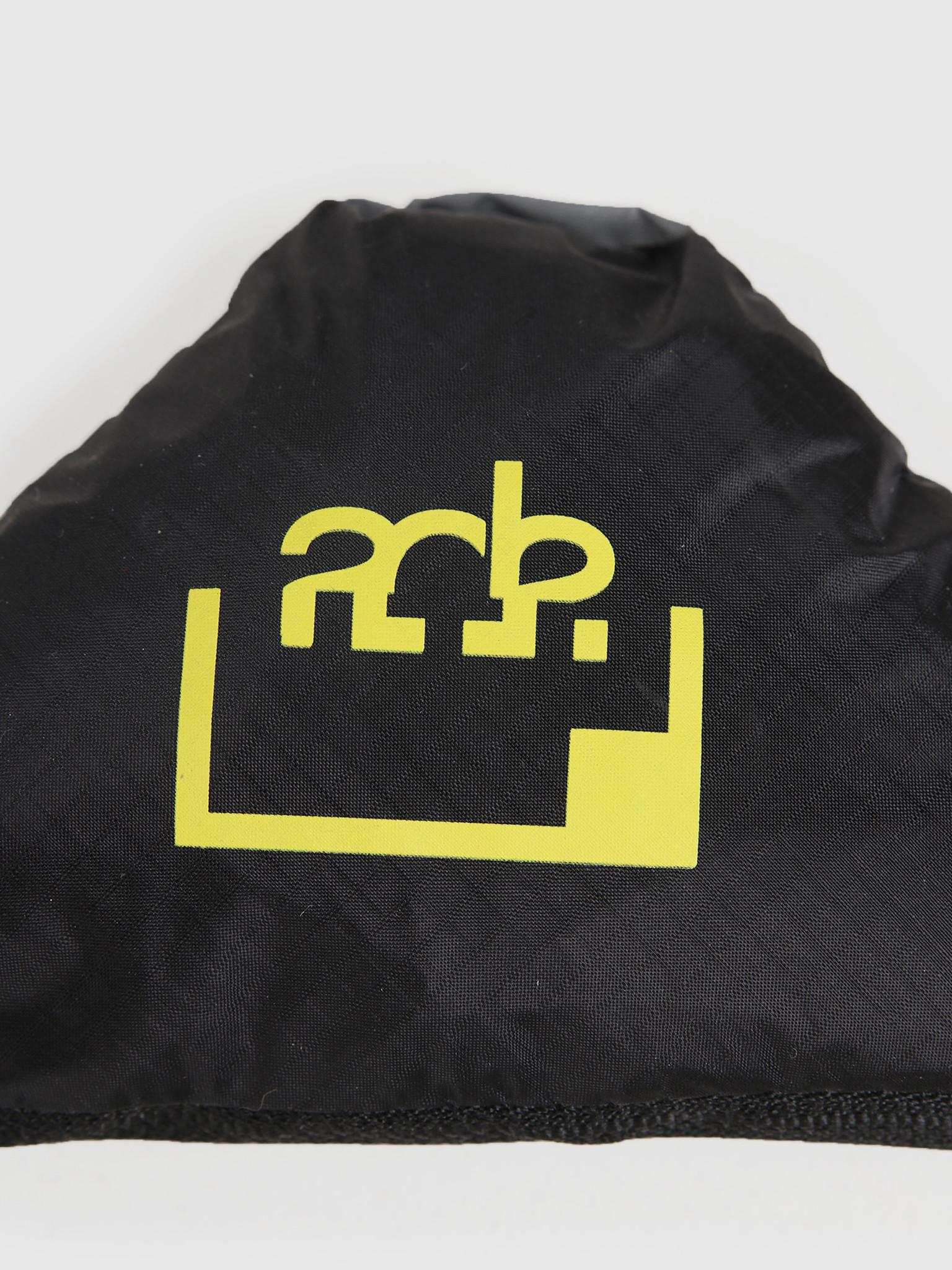 FRESHCOTTON x ADE FRESHCOTTON x ADE Packable Ripstop Tote Bag Black