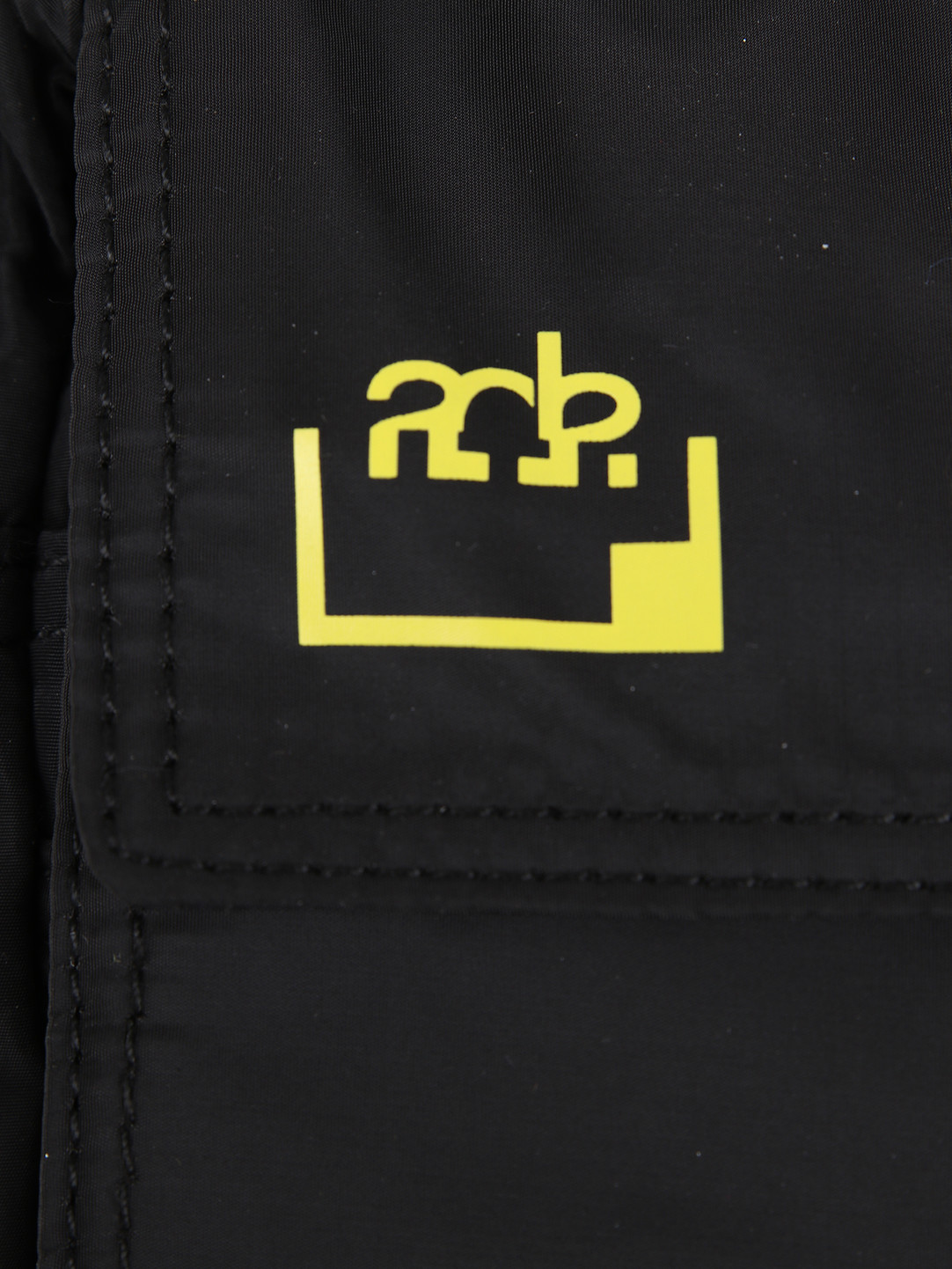 FRESHCOTTON x ADE FRESHCOTTON x ADE Passport Bag Black