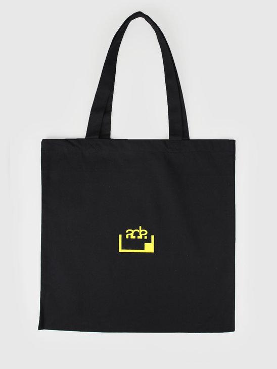 FRESHCOTTON x ADE Printed Tote Bag Black