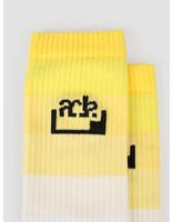 FRESHCOTTON x ADE FRESHCOTTON x ADE Socks White Yellow