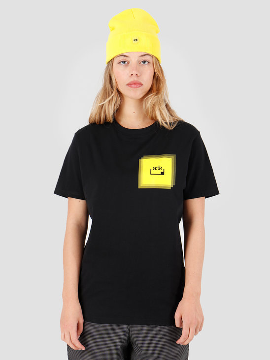 FRESHCOTTON x ADE Faded Print T-shirt Black