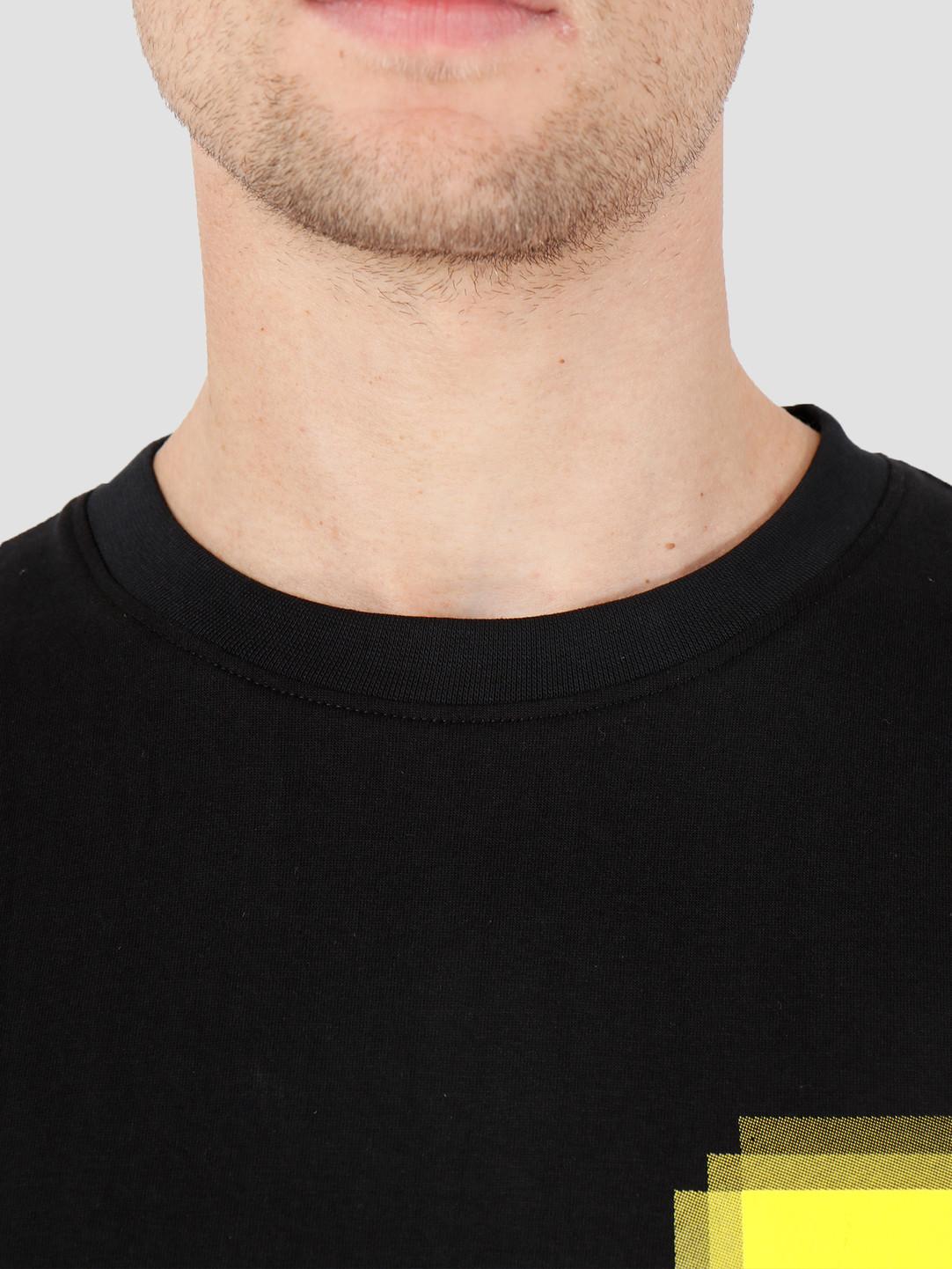 FRESHCOTTON x ADE FRESHCOTTON x ADE Faded Print T-shirt Black