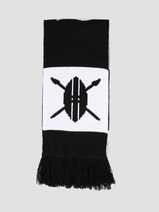 Daily Paper Soccer Scarf Black White 19E1AC05-01