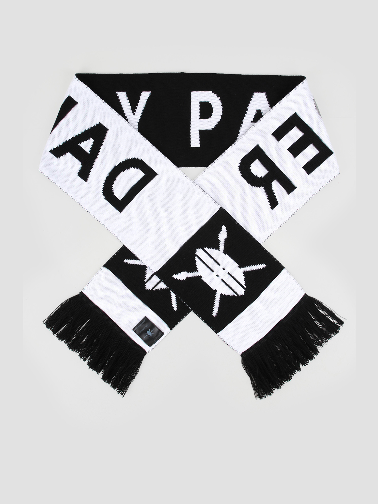 Daily Paper Daily Paper Soccer Scarf Black White 19E1AC05-01