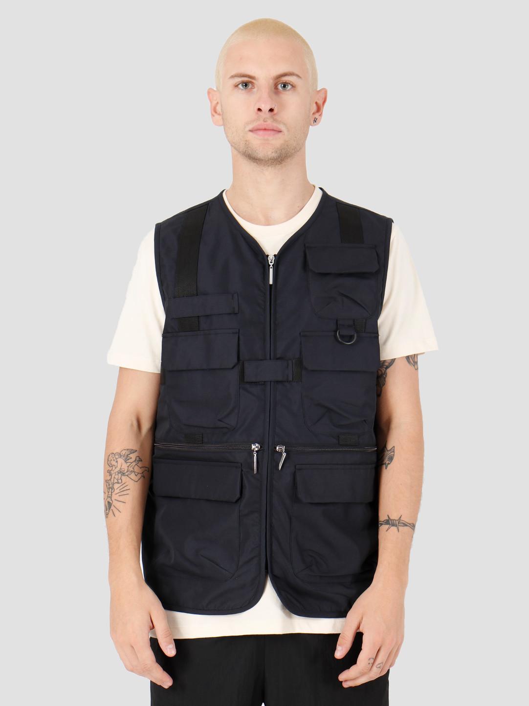 Hi-Tec Hi-Tec Denzer Utility Vest Black A9HAM056