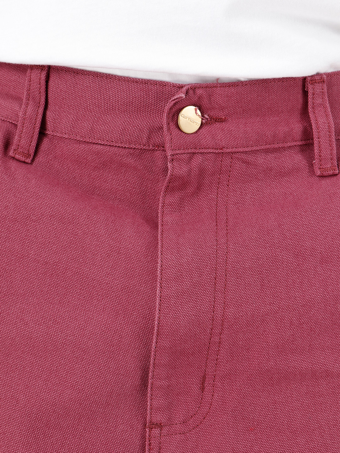Carhartt WIP Carhartt WIP Double Knee Pant Dusty Fuchsia I026489