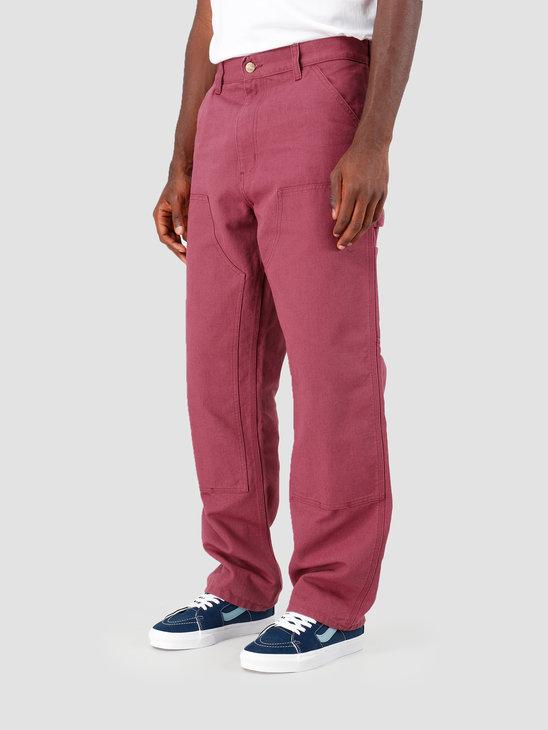 Carhartt WIP Double Knee Pant Dusty Fuchsia I026489