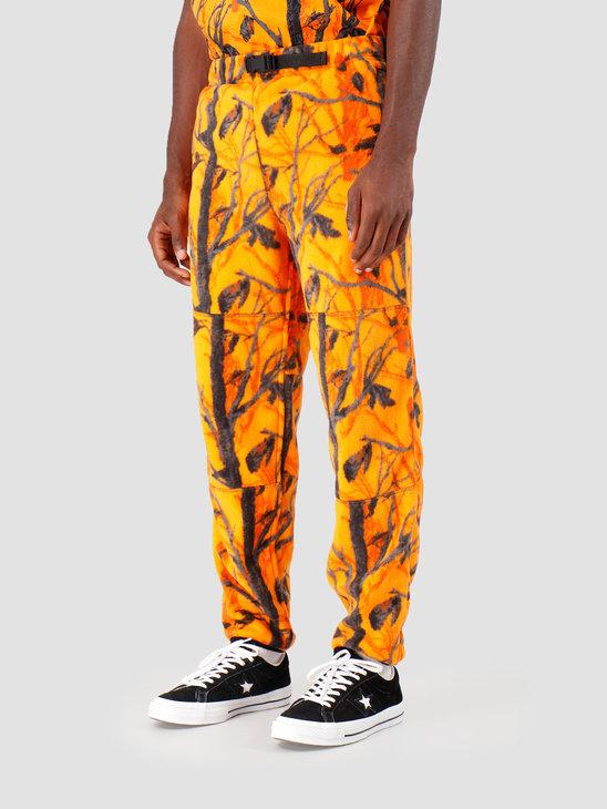 Carhartt WIP Beaufort Sweat Pant Camo Tree Orange Reflective Grey I027024