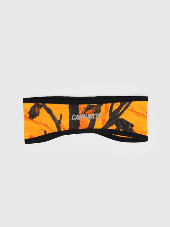 Carhartt WIP Beaufort Headband Camo Tree Orange Reflective I026832