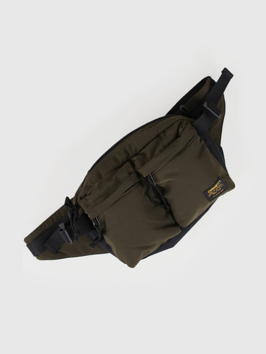 Carhartt WIP Military Hip Bag Cypress Black I024252