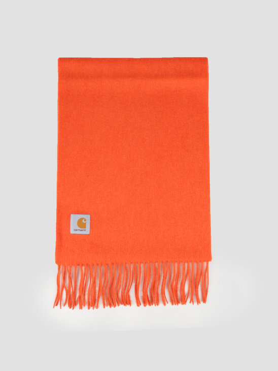 Carhartt WIP Clan Scarf Brick Orange I013507