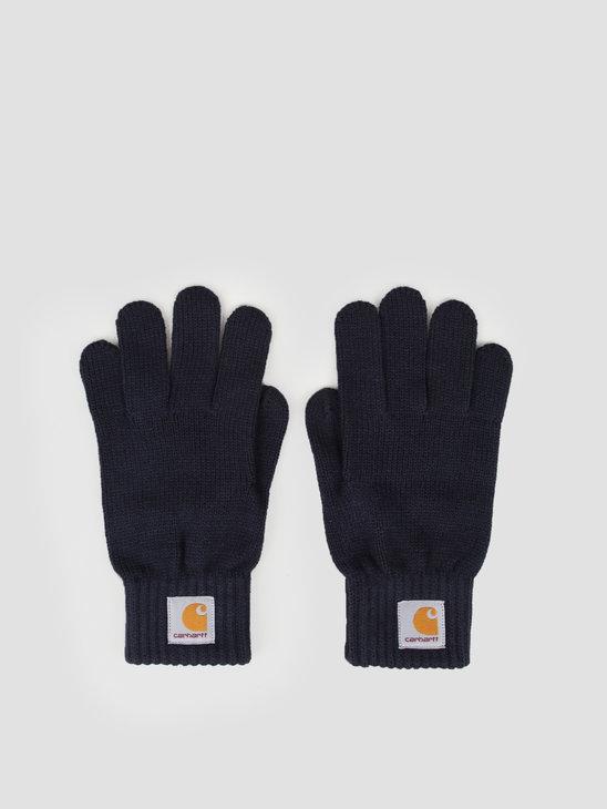 Carhartt WIP Watch Gloves Dark Navy I021756