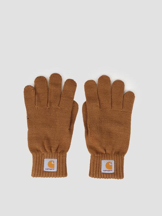 Carhartt WIP Watch Gloves Hamilton Brown I021756