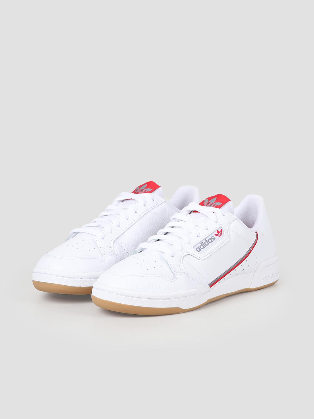 adidas adidas Continental 80 Grey White Scarle FV0356