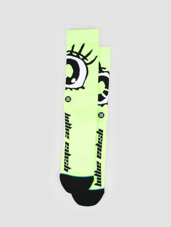 Stance Anime Eyes Neongreen U558B19ANI