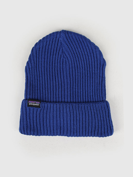 Patagonia Fishermans Rolled Beanie Cobalt Blue 29105