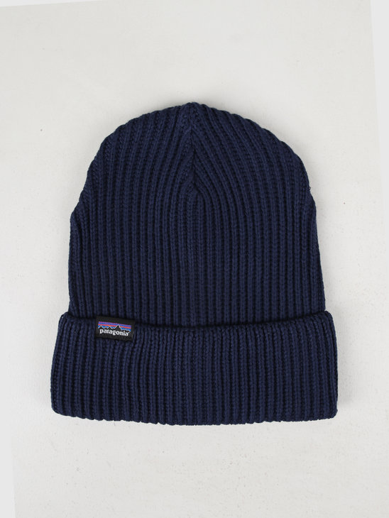 Patagonia Fishermans Rolled Beanie Navy Blue 29105