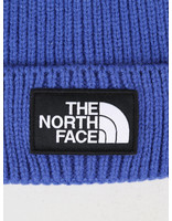 The North Face The North Face Logo Box Cuffed Beanie Blue T93FJXCZ6