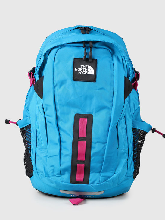 The North Face Hot Shot Se Acoustic Blue Festival Pink T93KYJFF4