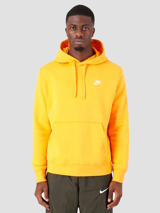 Nike Sportswear Club Fleece Hoodie Kumquat Kumquat White Bv2654-886