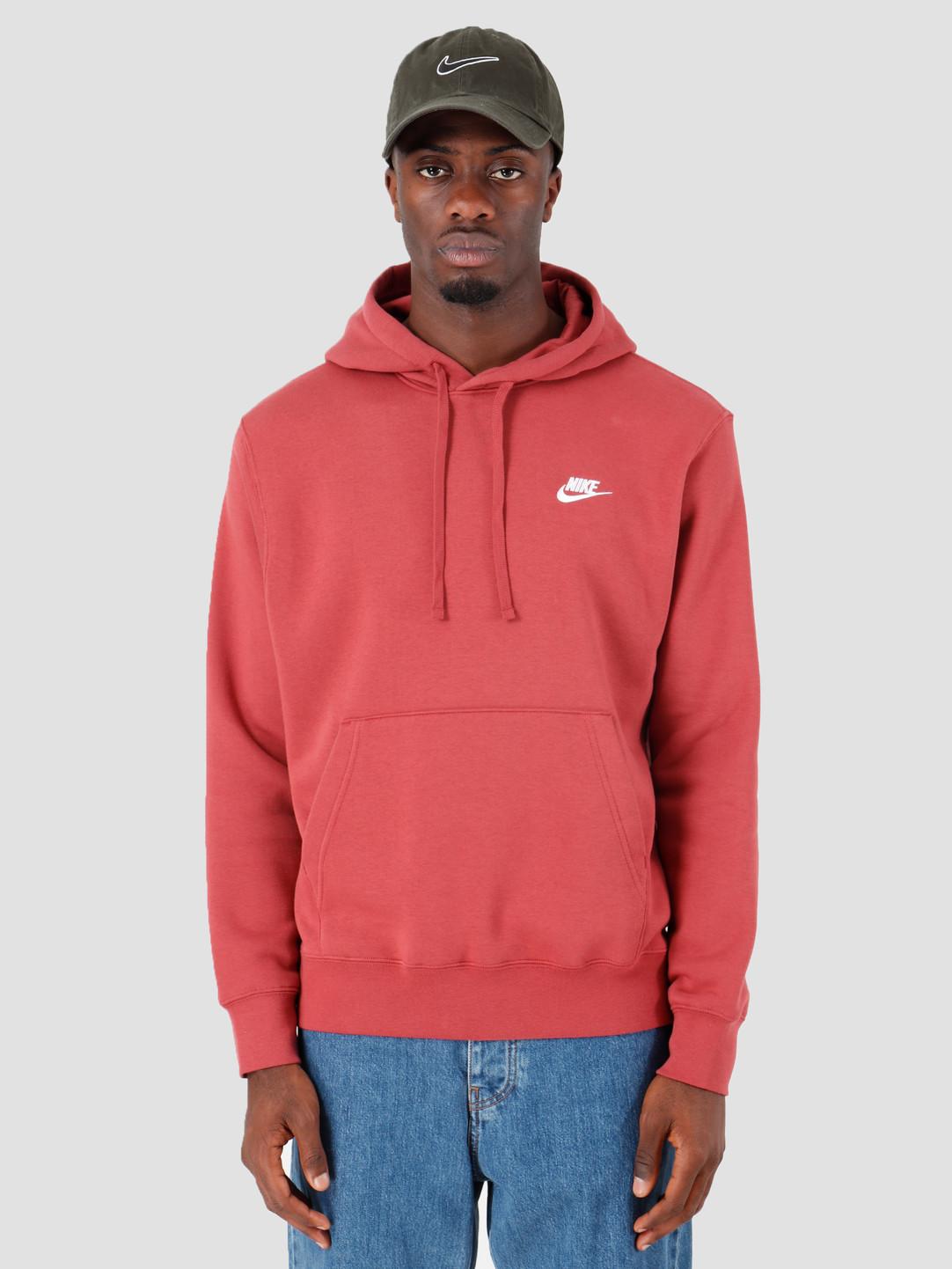 classic buy really comfortable Nike Sportswear Club Fleece Hoodie Cedar Cedar White Bv2654-661