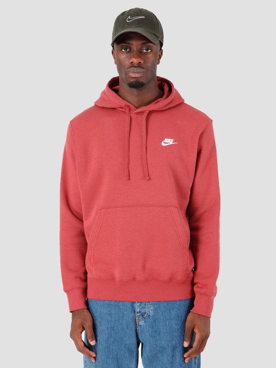 Nike Sportswear Club Fleece Hoodie Cedar Cedar White Bv2654-661