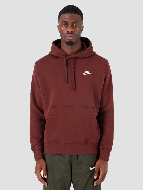 Nike Sportswear Club Fleece Hoodie El Dorado El Dorado White Bv2654-233