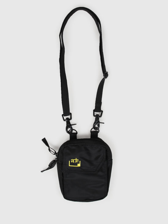 FRESHCOTTON x ADE Passport Bag Black