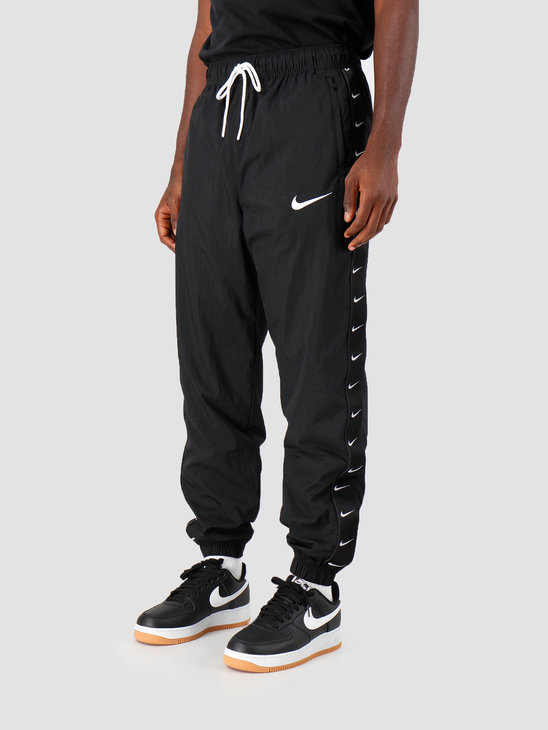 Nike NSW Swoosh Pant Wvn Black White CD0421-010