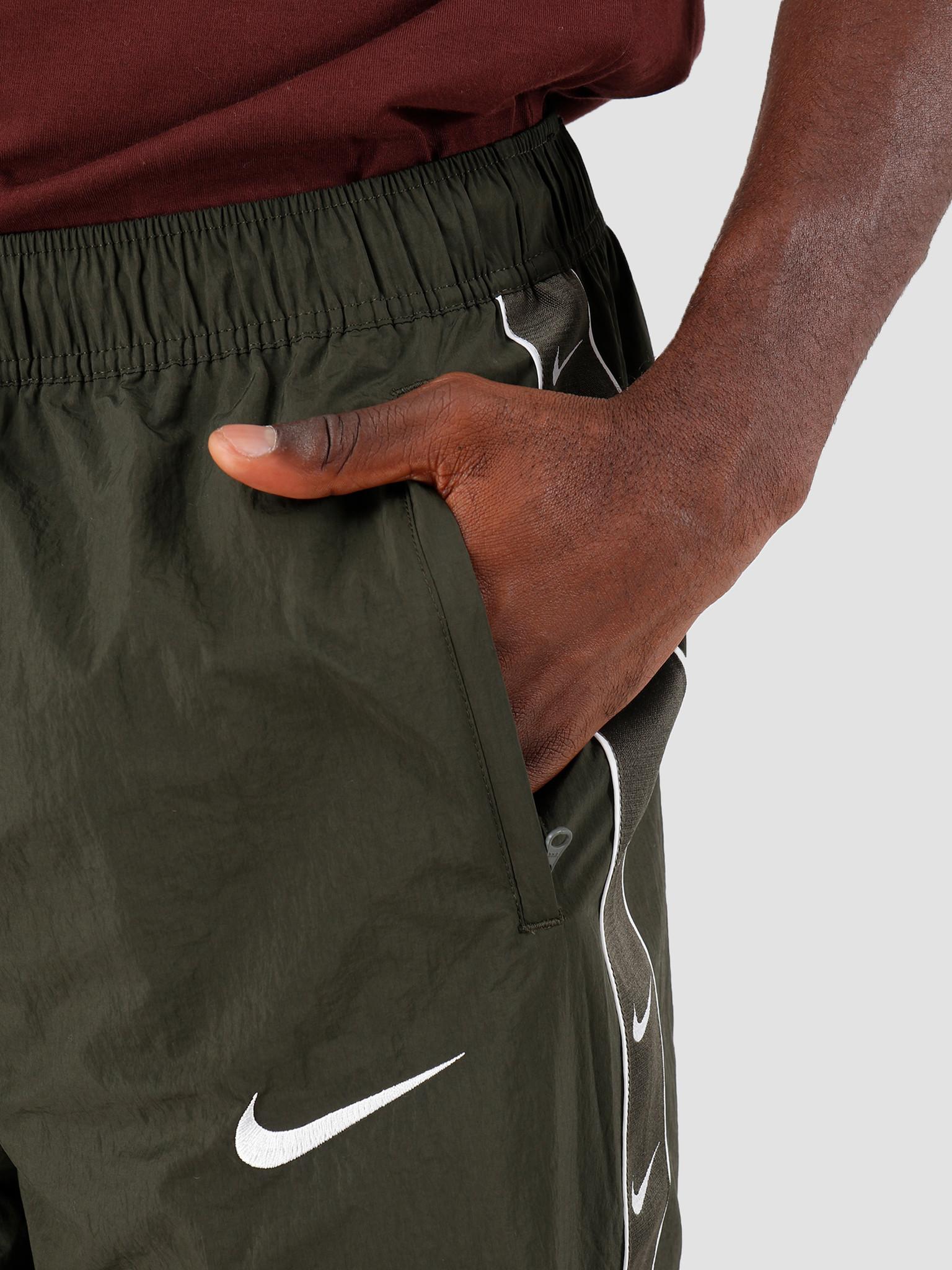 Nike Nike Sportswear Swoosh Pants Sequoia White Cd0421-356