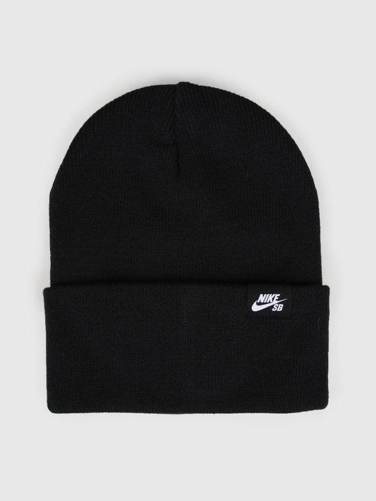 Nike SB Beanie Black White Ci4456-010