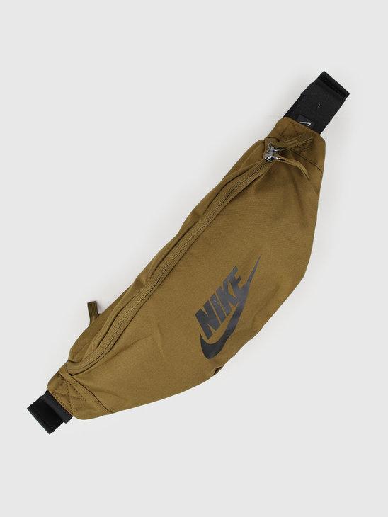 Nike Heritage Hip Pack Olive Flak Olive Flak Black BA5750-368
